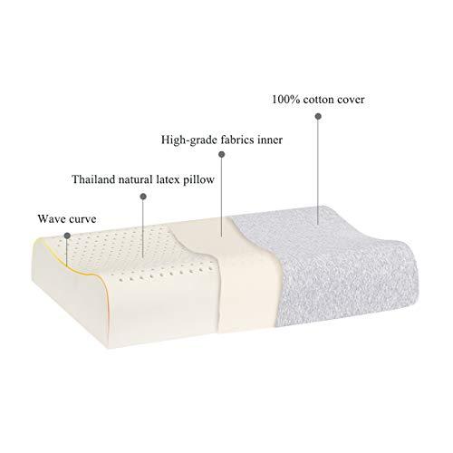 Bed Pillow Thailand Natural Medium Firm