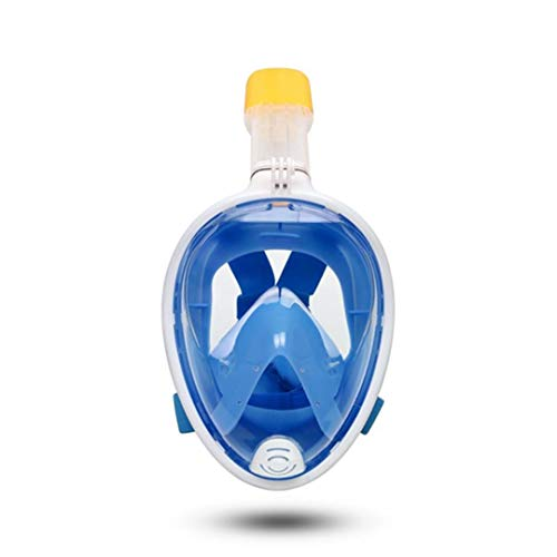 Snorkel Mask Underwater Anti Fog Full Face Snorkeling Diving Mask with Anti-Skid Ring Snorkel Insert Diving Mask3 L/XL
