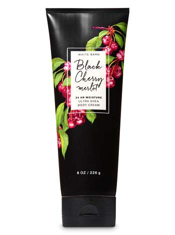- Bath and Body Works BLACK CHERRY MERLOT Ultra Shea Body Cream- Full Size