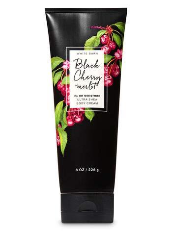 Bath and Body Works BLACK CHERRY MERLOT Ultra Shea Body Cream- Full Size