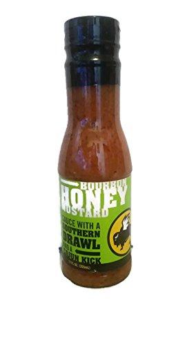 Buffalo Wild Wings Sauce (Bourbon Honey Mustard) 12 oz Bottle (Mustard Buffalo)