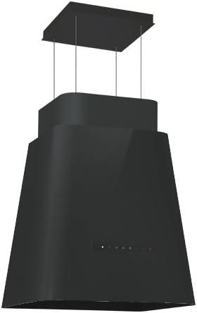 Silverline Lift Up Isola Premium LII 594S/Isla Campana/Negro/50cm