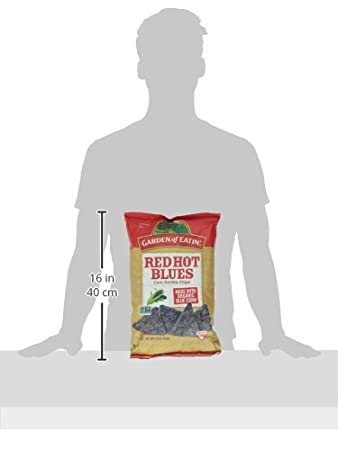 Amazoncom Garden Of Eatin Red Hot Blues Party Size 16 oz