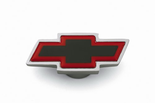 Proform 141-333 Chrome Air Cleaner Wing Nut with Large Red Bowtie Logo for 1/4-20