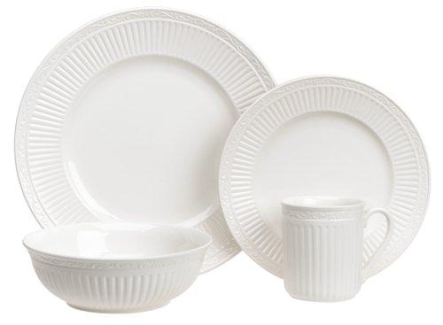 Mikasa Italian Countryside 16-Piece Dinnerware Set, Service for 4 Italian Countryside Accent Plate