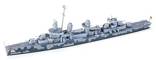 Navy Destroyer Ship (U.S.S. Fletcher DD445 Navy Destroyer 1-700 by Tamiya)