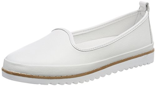 Andrea Kvinners Conti 001 0025731 Hvite Loafers weiss Aqq5ndwvr