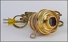 Aladdin 電球セット N185B Brass Finish Electric Converter B071JQFZFT