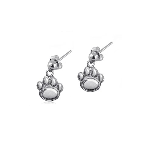 (Penn State Jewelry Nittany Lions PSU Sterling Silver Jewelry by Dayna Designs (Post Dangle Earrings))