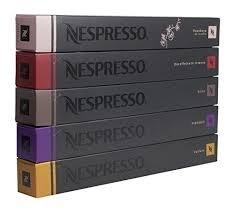 Nespresso OriginalLine Latte Pack Variety, 50 Count