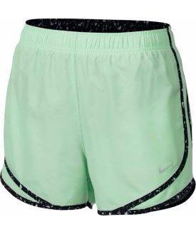 Nike Womens 3 Dry Tempo Running Shorts ( Fresh Mint/Black/Wolf Gre, X-Small )
