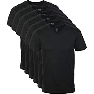 Gildan Men's V-Neck T-Shirts Multipacks
