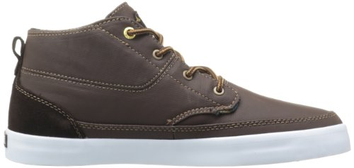 Emerica Men's Troubadour Skate Shoe Brown/White/Brown eastbay for sale purchase for sale brand new unisex online cheap sale visit new buy cheap brand new unisex nfx39