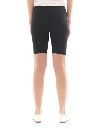 Sport Pantaloncini corti Radler Sport Donna Cotone Vasca Shorts Arancione In Leggings fwTgTqpP