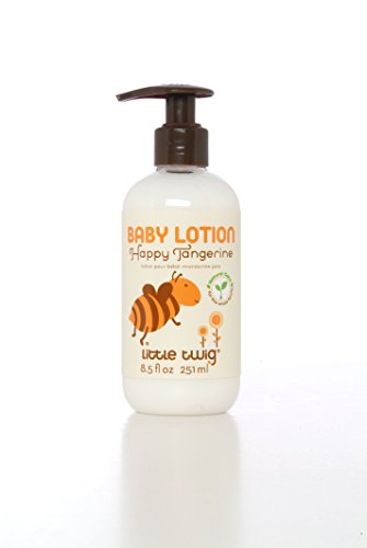 Little Twig All Natural Baby Lotion, Happy Tangerine, 8.5 Fluid Ounce