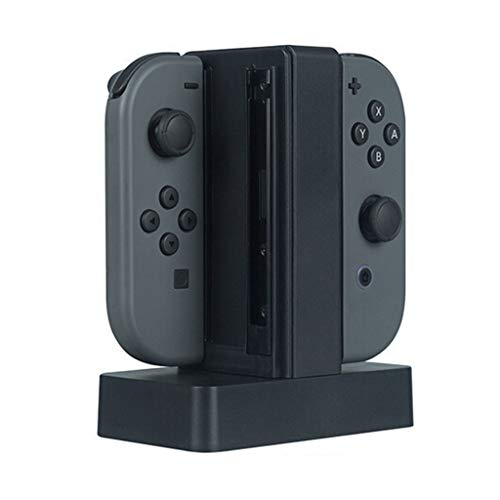 AJPJ(TM)Desktop Charger Ship from US,1Pcs Hot Fashion Charging Dock Station Charger with LED indication For Nintendo Switch Joy-Con