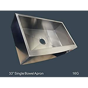 3159kQmW%2BtL._SS300_ 75+ Beautiful Stainless Steel Farmhouse Sinks For 2020