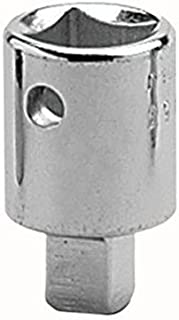 "product image for Wright Tool 4453 1/2"" Female x 3/8"" Male Square Drive Chrome Nickel Adapter"