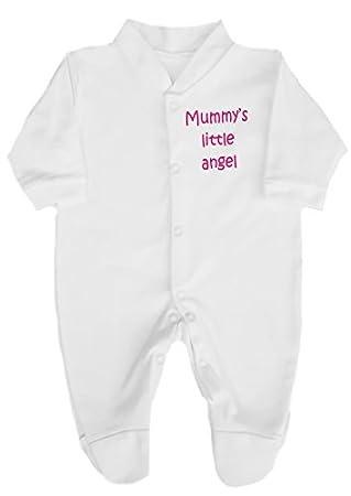 89a67914adc0 The Bees Tees Mummy s Little Angel Cute Babygrow   Sleepsuit0-3 ...