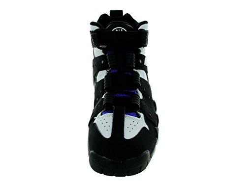 Nike Kids Air Max Cb 94 (gs), Grigio Chiaro / Bianco - Blu Scuro - Arancione Totale Nero / Viola Puro // Bianco