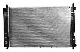 TYC 2764 Chevrolet Equinox 1-Row Plastic Aluminum Replacement Radiator