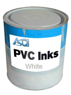 Screen Printing Ink 2.2lbs Pad Printing PVC Ink (White) by Screen Printing Consumables