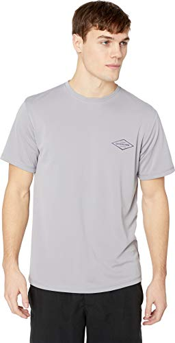 - Quiksilver Waterman Men's Gut Check Ss UPF 50+ Surf Tee Rashguard, Sleet, XXL