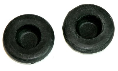 - (J-7-6) Compatible With 1964-1972 GM Back Seat & Trunk Drop Extension Inner Quarter Panel Drain Plugs NOS