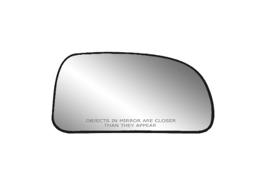 Heated Side Passenger Mirror - Fit System 30188 Passenger Side Heated Replacement Mirror Glass with Backing Plate