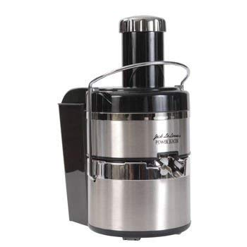 Jack LaLanne's Power Juicer deluxe stainless steel electric (Power Juicer Jack Lalanne)