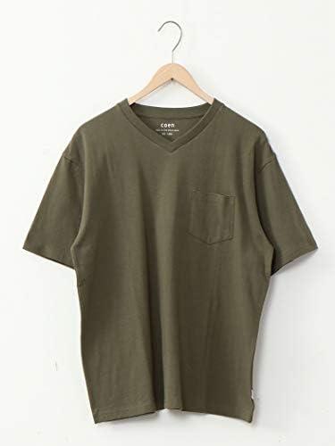 (コーエン) COEN USAコットンヘビーウェイトVネックポケットTシャツ# 75256070002