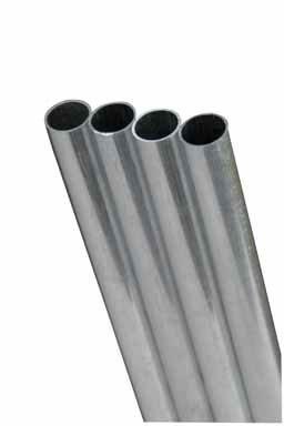 K&S Aluminum Tube 1/2