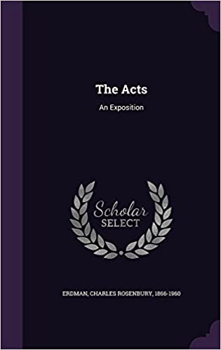 Book The Acts: An Exposition