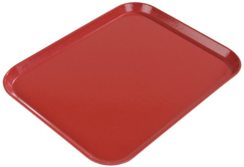 Carlisle 1814FG076 Fiberglass Glasteel Solid Rectangular Tray, 18