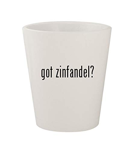 (got zinfandel? - Ceramic White 1.5oz Shot Glass)