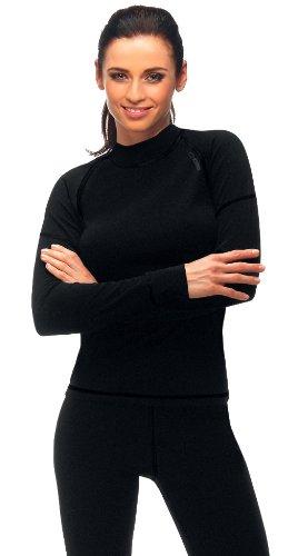 gWINNER ® Damen warme Funktionsunterwäsche / Thermo Skiunterwäsche - Langarm Shirt - SILVERPLUS® PRO - THERMO Line