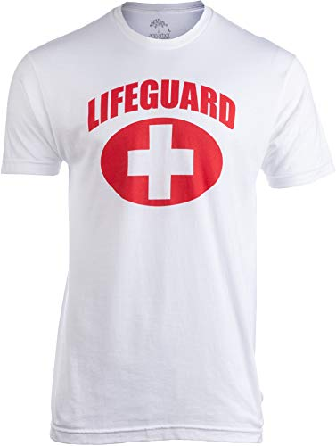 Lifeguard | White Lifeguarding Unisex Uniform Costume T-Shirt for Men Women - S]()