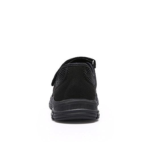 Fitness Ballerine Respirant Marchant En Sports Chaussures Baskets Pour Outdoor Noir Ulogu Mesh Yoga Aptitude Femme Léger De wqpCWSt