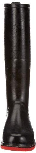 Ilse Jacobsen RUB31, Stivali di gomma Donna Multicolore (Schwarz Rot 0130)