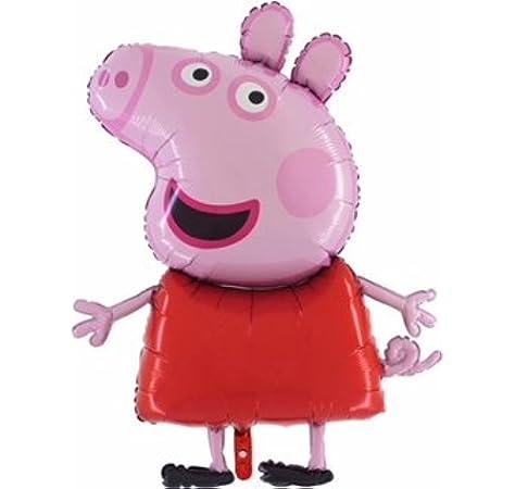 ae7f05788 Peppa Pig Globo gigante de papel tamaño gigante de 37 pulgadas - Globos  festivos para niños