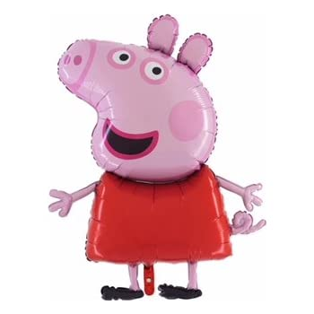 Amazon.com: Peppa Pig Balloon Birthday Party Favour Supplies ...