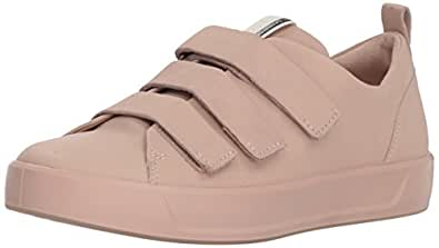 ECCO Women's Women's Soft 8 Strap Sneaker, Rose dust, 38 Medium EU (7-7.5 US)