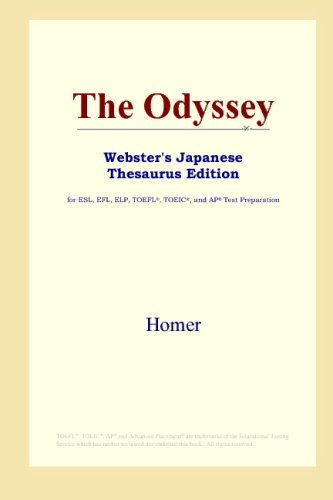 The Odyssey (Webster's Japanese Thesaurus (Websters Japanese Thesaurus)