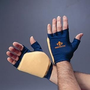 Impacto Ergonomic Anti-Impact Glove Double Padded - Large - Pair (Left and Right)