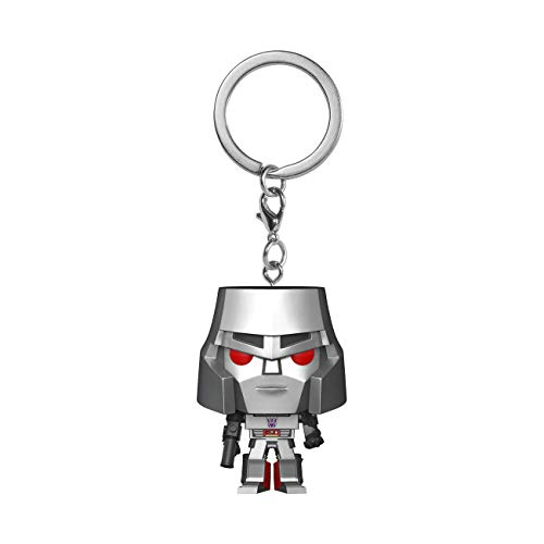 Funko- Pop Keychain Transformers-Megatron Figura Coleccionable, Multicolor (52156)