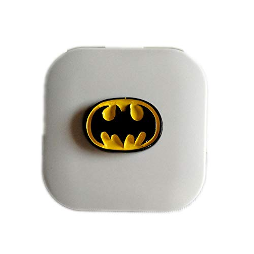 Resin Batman Contact Lens Case for Eyes Contact Lenses for Glasses Case,A