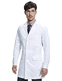 Dr. James Mens Slim Fitted Consultation Lab Coat (36 Inch Length)