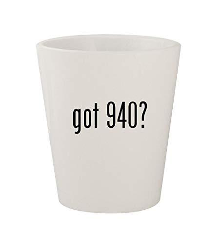 got 940? - Ceramic White 1.5oz Shot Glass