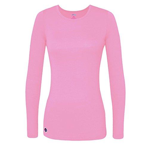 Sivvan Women's Comfort Long Sleeve T-Shirt / Underscrub Tee - S8500 - Sherbet - L