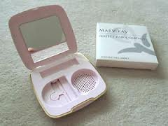 Mary Kay Perfect Pair Compact ~ Vintage ~ Pink ~ Holds Foundation & Lipstick 7996